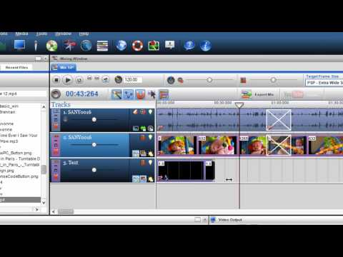 How to create mixes and covert files for the iPhone iTouch Ipod and the PSP using TrakAxPC Pro