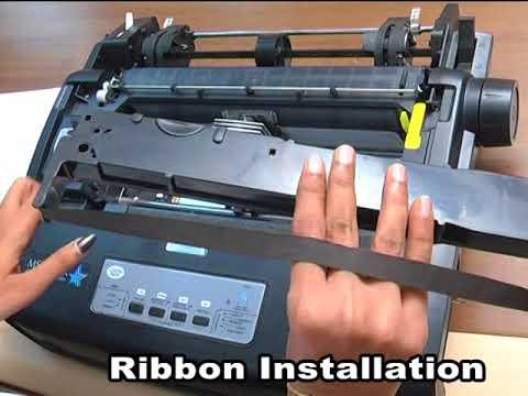 TVS Dot matrix printer installation