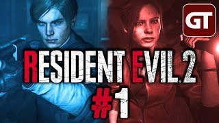 Resident Evil 2 Gameplay German #1 - Let's Play RE2 Remake 2019 PC