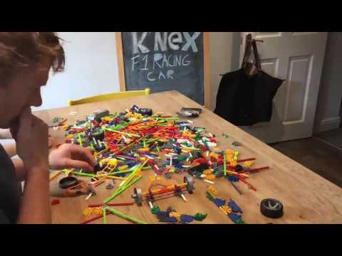 K'nex knex F1 racing car build