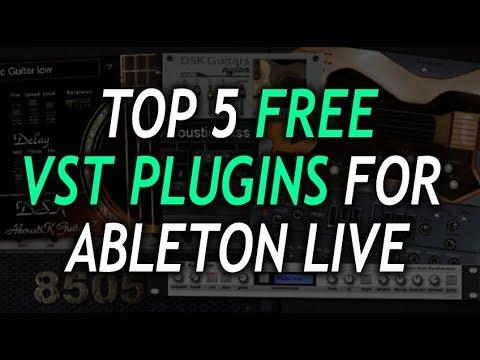 5 FREE VST PLUGINS for ABLETON LIVE