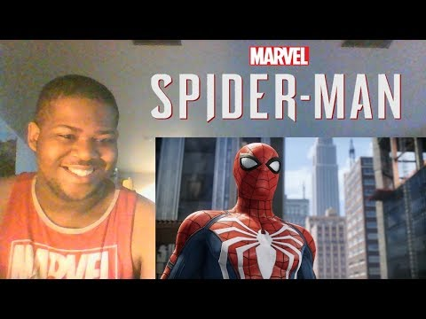 Marvel's Spider-Man - Pre-Order Video | PS4 REACTION!!!