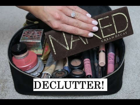Clean With Me: Makeup Bag Declutter!