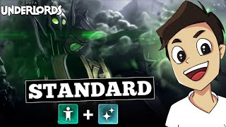 HUMAN + MAGE MADNESS! What a strange game! [Dota Underlords]