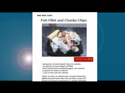 Low calorie meal ideas: Fish fillet and Chunky Chips just 464 Calories!!  Lose weight fast tips
