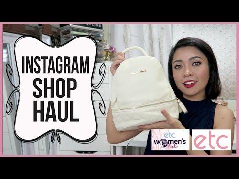 ONLINE SHOP HAUL PHILIPPINES (Instagram) | ETC Channel | Gen-zel Habab