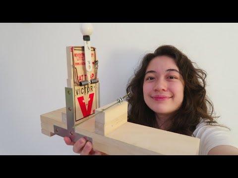 Building a RAT TRAP CATAPULT!!