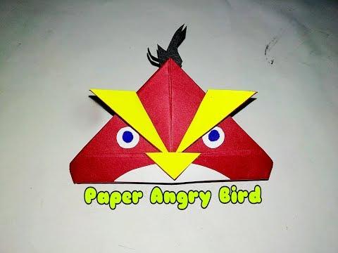 DIY Paper Angry Bird