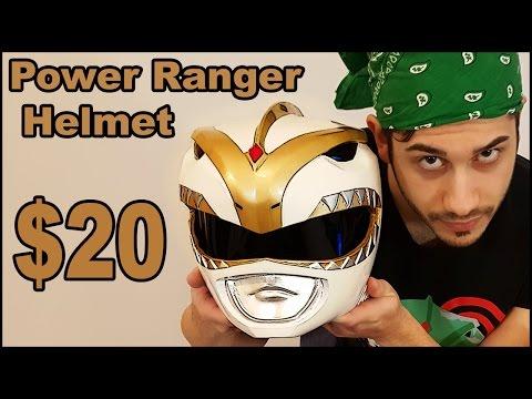 Power Ranger Helmet Under $20 - Tutorial