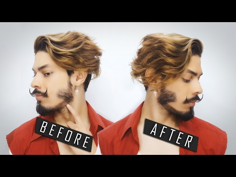 How i Fill My Beard | How To Dye a Patchy Beard
