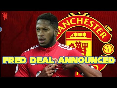 Manchester United Announce FRED DEAL