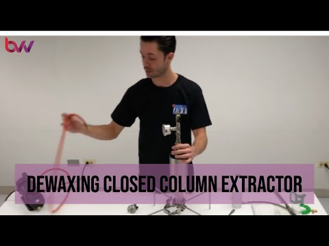 Dewaxing closed Column Extractor