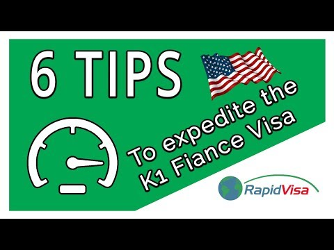 6 Tips to Expedite the K-1 Fiance Visa Process
