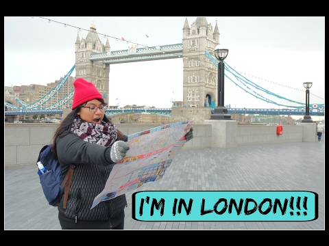 Travel Vlog: Flying off from Singapore & Day 1 in London!!