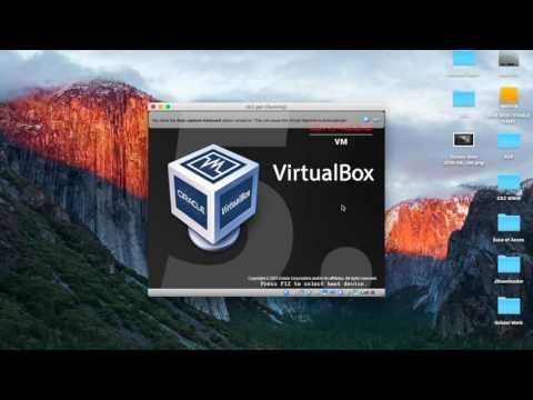 Install Virtual box on Mac 2016 and Ck2 Generator on Mac