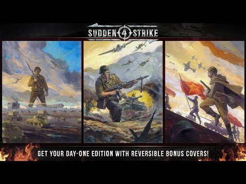 Sudden Strike 4 - Limited Day One Edition | Reversible Covers (UK)