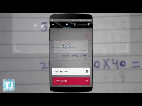 Solve Any Mathematics Questions With Your Phone's Camera