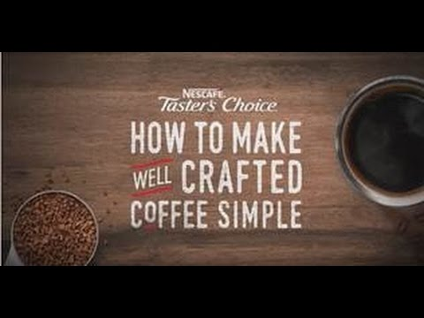 How to Make Instant Coffee With NESCAFÉ Taster's Choice
