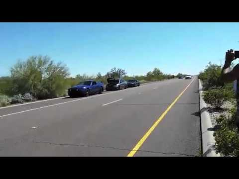 HD Street Racing! 400hp Evo 9 - Z06 - 5.0's - Golf R's Take a trip to Mexico!!