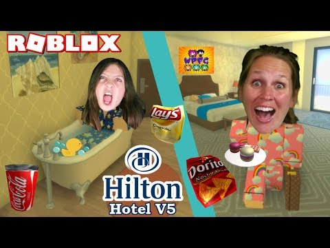 GET THEM OUT OF THE LUXURY SUITE ROOM! ROBLOX HILTON HOTEL V5 | WPFG Family Gaming Team Night