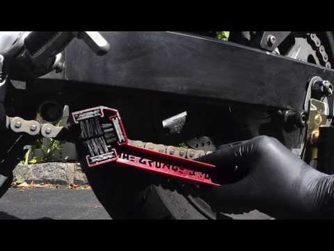 How to Clean a Motorcycle Chain