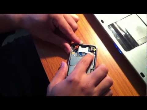 How to enter DFU mode without power button: iPhone 3g