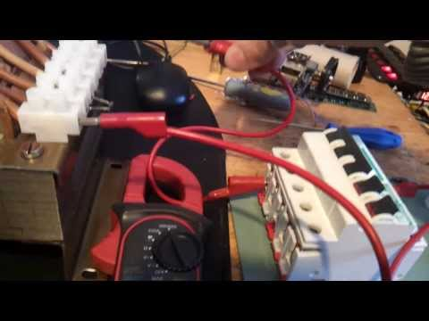 CIRCUIT BREAKER HIGH CURRENT LOW VOLTAGE TEST
