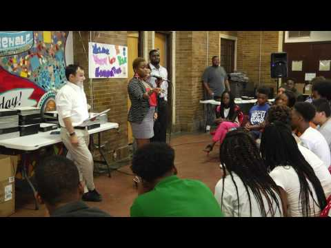 Youth Led Tech Graduation 2016 -  North Lawndale