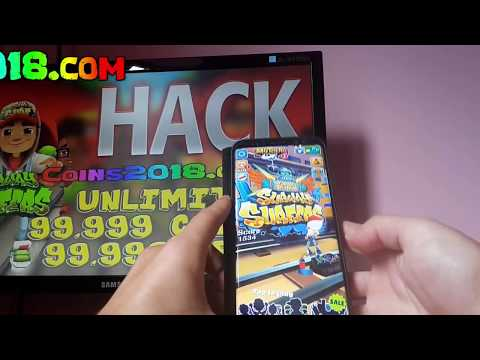 VIDEO TUTORIAL Subway Surfers Hack How To Hack Subway Surfers 99.999 COINS & KEYS