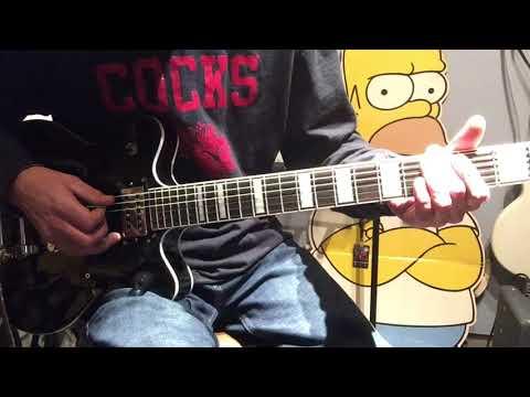 Guitar lesson George Thorogood- I drink alone