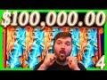 $100,000.00 HUGE 1/2 JACKPOT WINS on Your Favorite CASINO SLOT MACHINE Bonuses 💰4💰 SDGuy1234