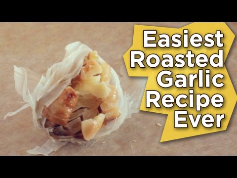 The Easiest Roasted Garlic Recipe Ever   No Oil   No Salt   Vegan   Nutritarian
