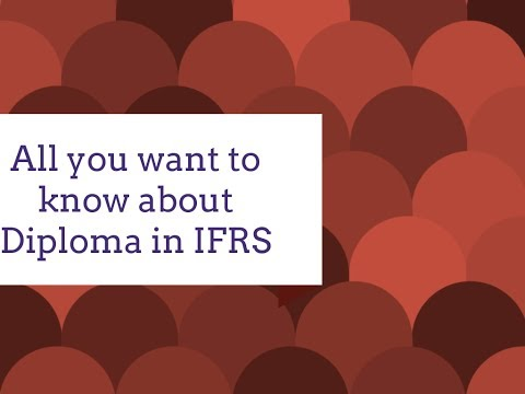 Diploma in IFRS ACCA Eligibility