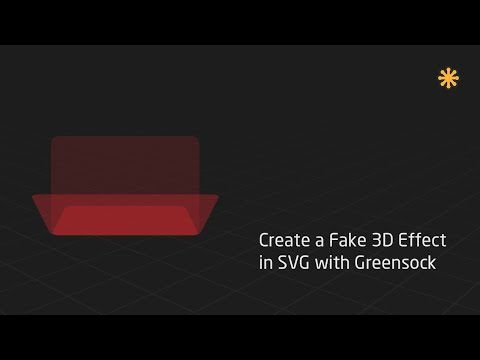 Create a 3D Effect in SVG with Greensock