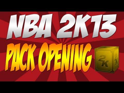 NBA 2K13 My Team 100,000 VC Pack Opening - Big Spender