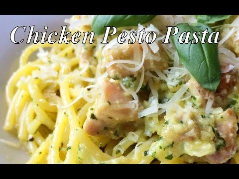 Chicken Pesto Pasta (Spaghetti Recipe)- BenjiManTV