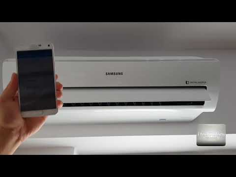 How to connect Samsung Wifi Premium Air Conditioner A++ with Smart Home app; all the features