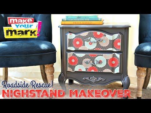 Roadside Rescue Nightstand Makeover