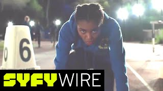 Black Lightning Sneak Peek at New Series and Three Heroes | San Diego Comic-Con 2017 | SYFY WIRE