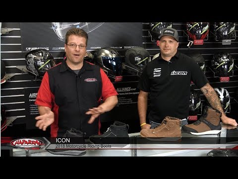 The Icon Motorcycle Boot Line-up for 2018 Super Duty 5 | Truant 2 | Patrol 2