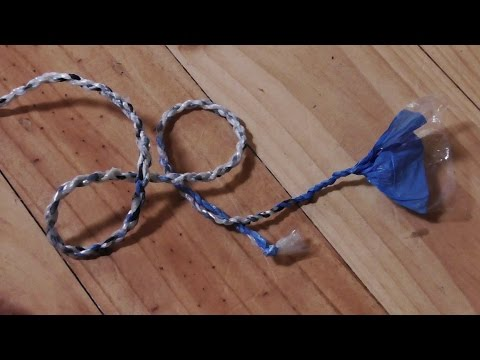 How to Make Rope Out Of Recycled Plastic Bags