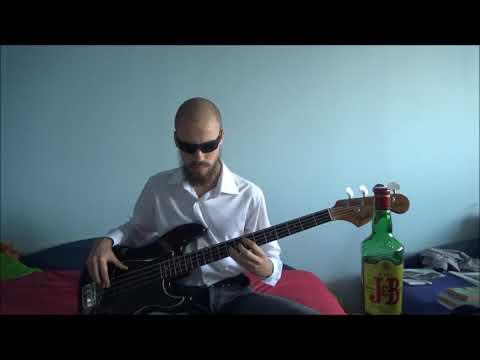 George Thorogood - I Drink Alone Bass cover