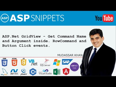 ASP.Net GridView - Get Command Name and Argument inside RowCommand and Button Click events