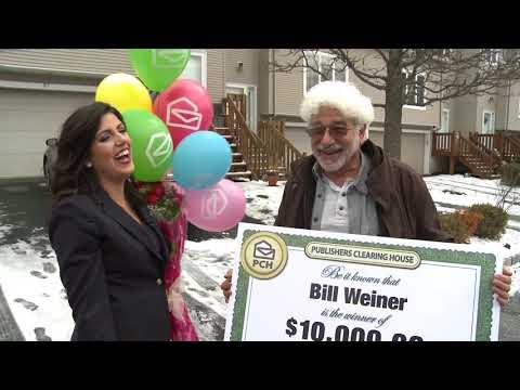 $10,000 PCH Winner – Bill Weiner
