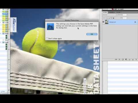 Save Photoshop to PDF