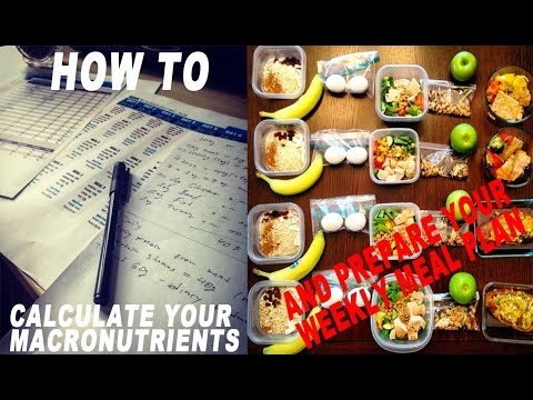 How To Calculate Your Macro Nutrition And Prepare Your Food For The Week