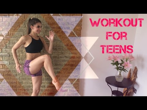 Workout For Teens - Body Toning 20 Minute Workout