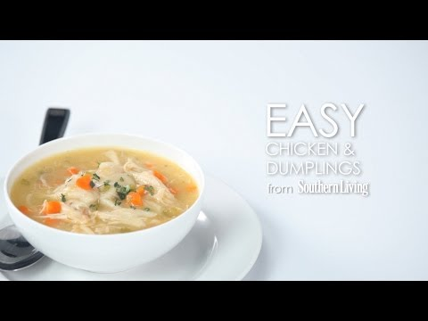 How to Make Easy Chicken and Dumplings | MyRecipes