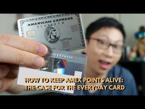 How to Keep Amex Points Alive: The Case for the EveryDay Card