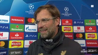 Jurgen Klopp reacts to Liverpool vs Bayern Munich